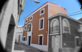 Fachada principal de La Pajarona