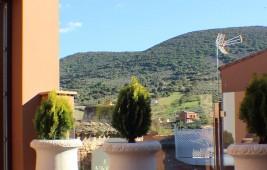 Vistas de la sierra de Siruela desde La Pajarona